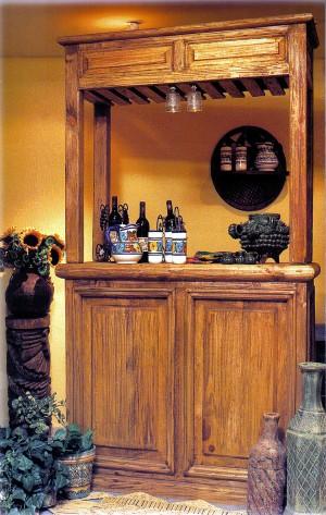 Bar r stico muebles de la hoz for Mobiliario rustico para bares