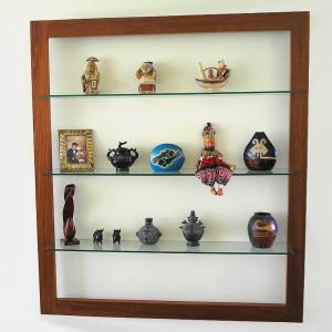 Repisero madera vidrio muebles de la hoz - Muebles de vidrio ...