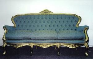 Sofá victoriano